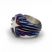 Ring »Flaming Star«
